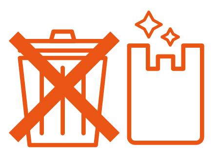ゴミ箱の撤去
